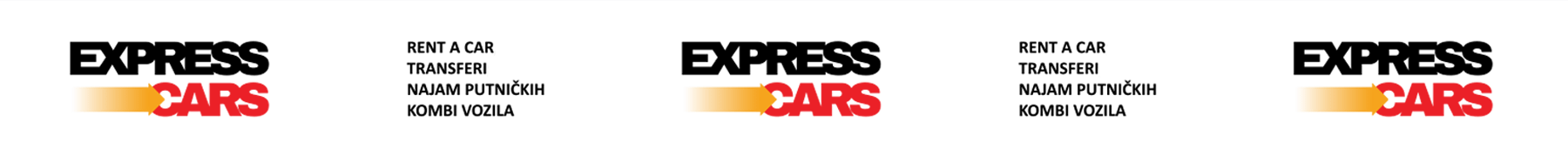Express cars banner transparentni