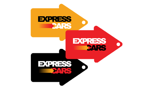 Express Cars flags