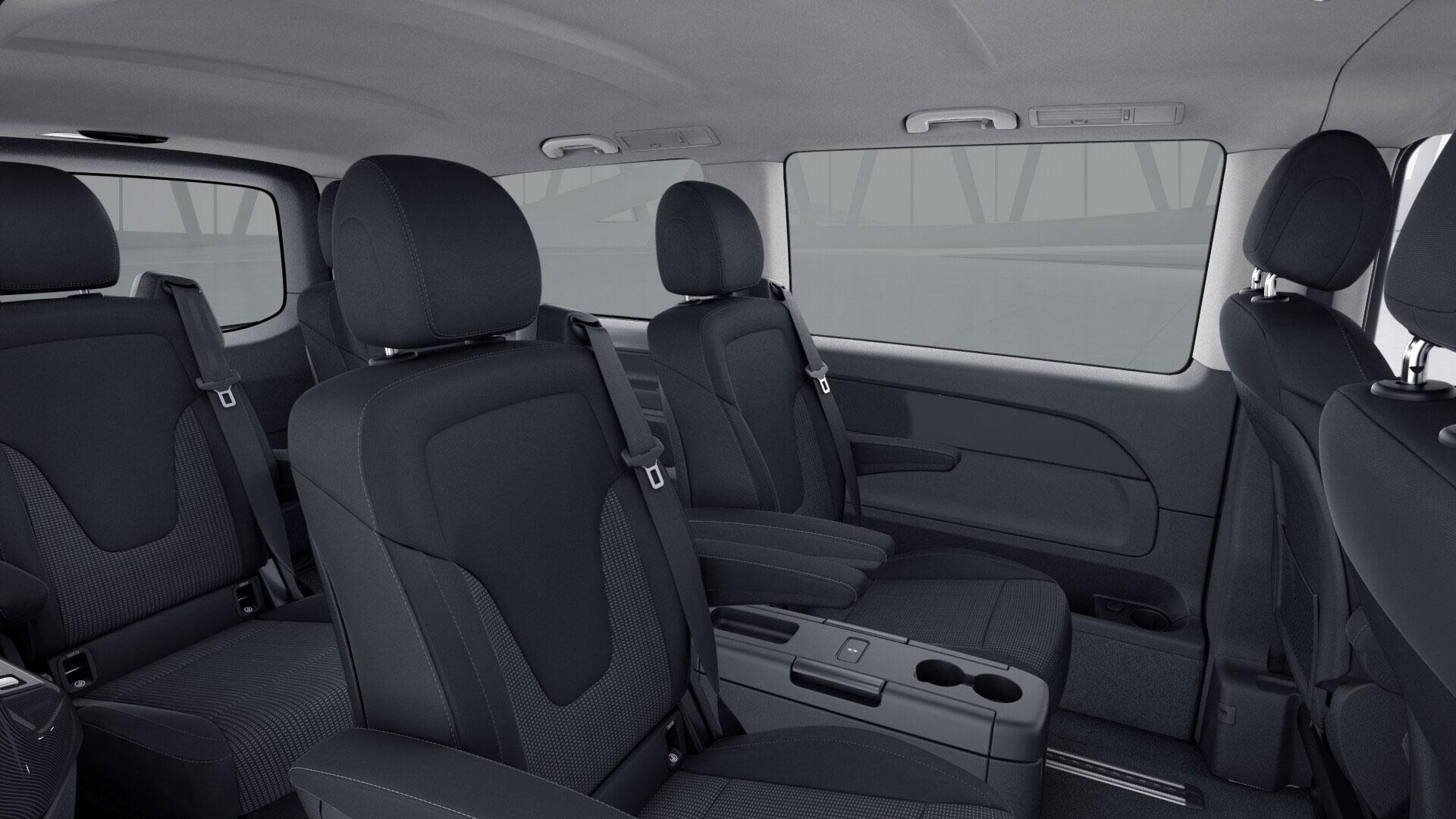 Mercedes V Class 250d 4Motion interior